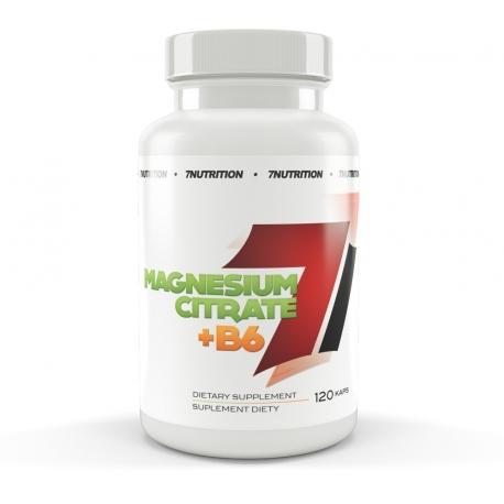 7 Nutrition Magnesium+B6 120caps.
