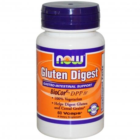 NOW Foods Gluten Digest 60kaps.
