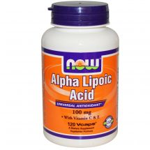 NOW Foods Alpha Lipoic Acid 100mg 60kaps.