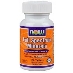 NOW Foods Full Spectrum Minerals - 100 tab.