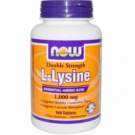 NOW Foods L-Lysine 100tabs