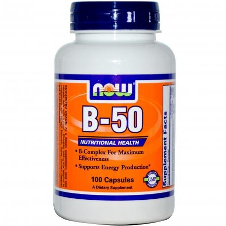 NOW Foods - Vitamin B-50 100kaps.