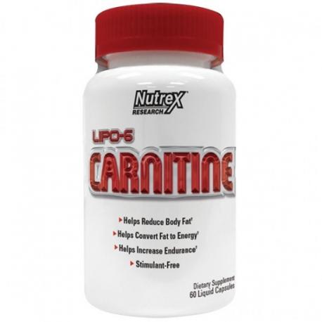 NUTREX Lipo-6 Carnitine 60 kaps