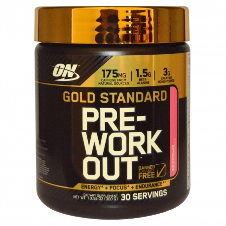 Optimum Gold Standard Pre Workout 330g