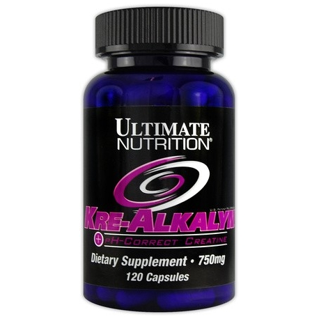 Ultimate Kre Alkalyn 750 mg - 120 kaps