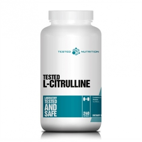 Tested Nutrition Citruline 240kaps.