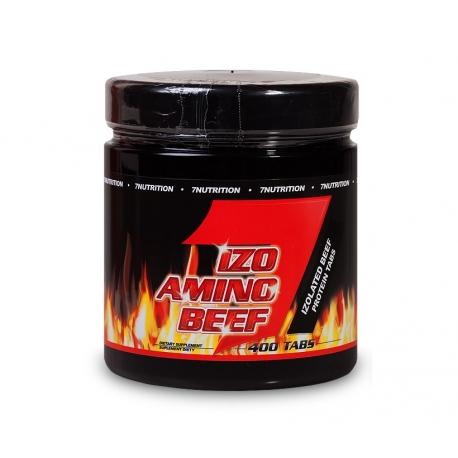 7 Nutrition Izo Beef Amino - 400 kaps.