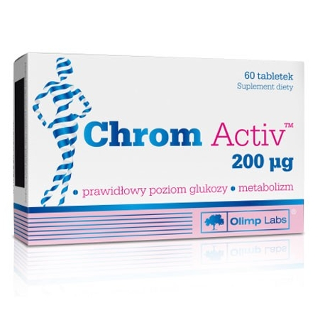 Olimp Chrom Active 200mcg 60tab.