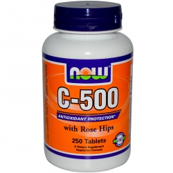 Now Foods C-1000 with Rose Hips - 100kap.