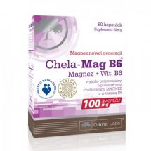 Olimp Chela Mag B6 100mg 60 kaps.