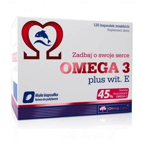 Olimp Omega 3 plus wit.E 120 kaps.