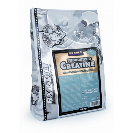 Rx Gold Micronized Creatine - 1000g