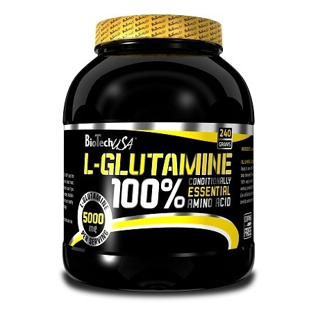 Bio Tech L-Glutamine - 240 g