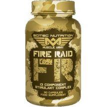 Scitec MA Fire Raid - 90 kaps.