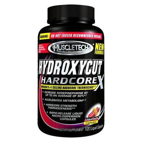 Muscletech Hydroxycut Hardcore X - 210 kaps.