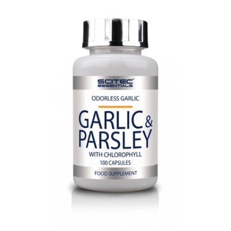 Scitec Garlic & parsley (czosnek i pietruszka) 100 kaps.