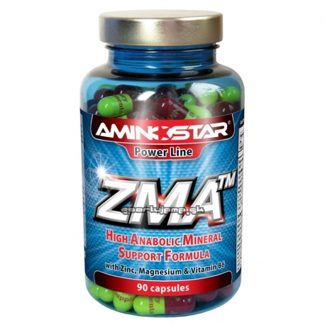Aminostar ZMA - 90 kaps.