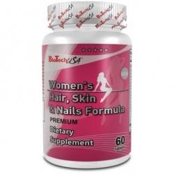 Bio Tech USA - Women's hair skin & nails formula - 60kap