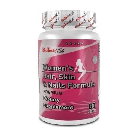 BioTech USA - Women's hair skin & nails formula - 60kap
