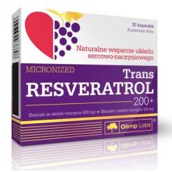 Olimp Trans Resveratrol 200+ 30 kaps