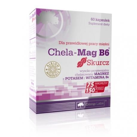 Olimp Chela Mag B6 skurcz 60kaps.