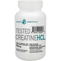 Tested Nutrition Creatine HCL - 120 caps. [750mg]