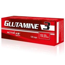 ActivLab Glutamine 3 - 120 caps.