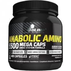 OLIMP Anabolic Amino 5500 Mega Caps 400 kaps