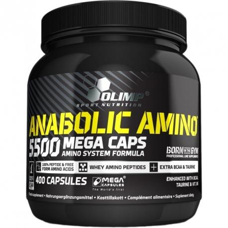 Olimp Amino Anabolic 5500 Mega Caps - 400 kaps
