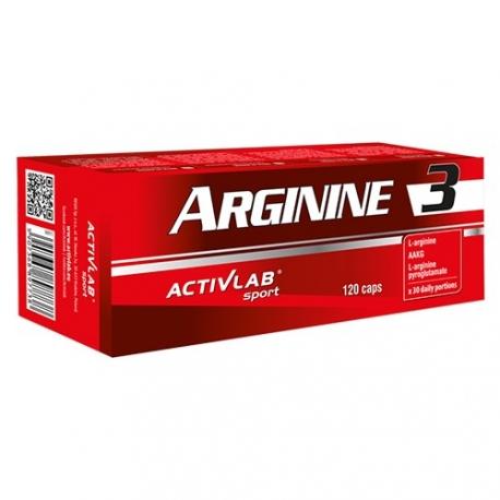 ActivLab Arginine3 - 128 kaps.