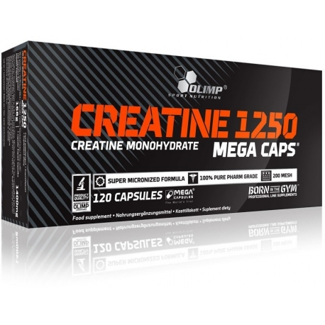 Olimp Creatine Mega Caps - 120 kaps