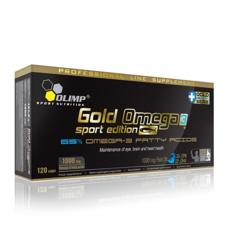 Olimp Gold Omega3 Sport Edition - 120 kaps.