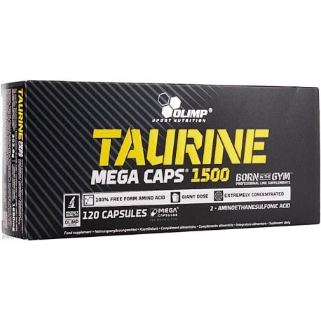 Olimp Taurine Mega Caps - 120 kaps.