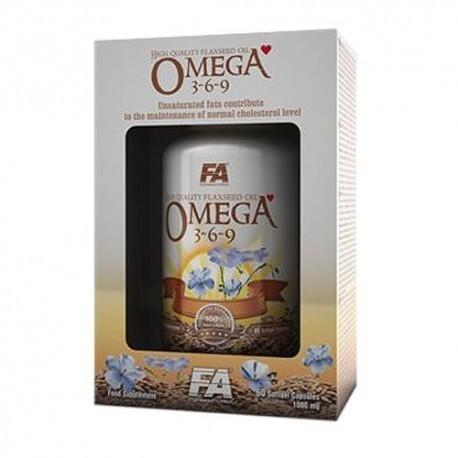 FA Nutrition Omega 3-6-9 - 60 kaps.