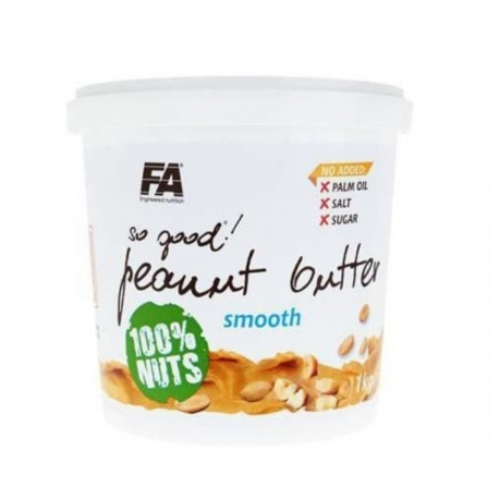 FA So Good Peanut Butter Smooth 100% 1kg