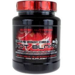 Scitec Hot Blood 820g +Gym Sack