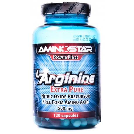 Aminostar L-Arginine - 120 kaps.
