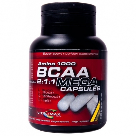 Vitalmax BCAA Mega Capsules - 60 kaps