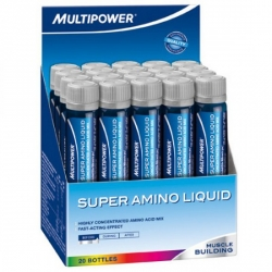 Multipower Super Amino Liquid 20 amp./25 ml (New Formula)
