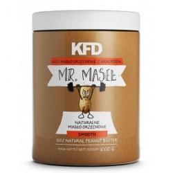 KFD Masło z arachidów Crunchy - 1000g