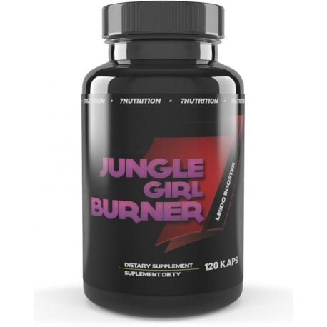 7 Nutrition Jungle Girl Burner + Libido Complex 120 kaps.