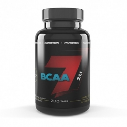 7 Nutrition - BCAA 2:1:1 - 200 tab.