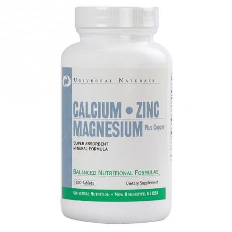 Universal Calcium Zinc Magnesium 100 tabl.
