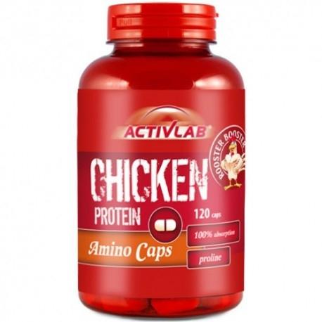 Activlab Chicken Protein Amino Caps 120kaps.
