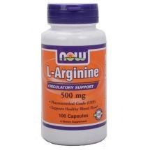 NOW FOODS L-Arginina 100 kap.
