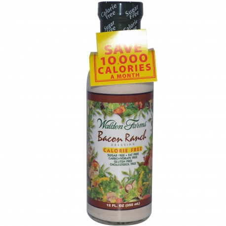 Walden Farms Salad Dressing Bacon Runch 355ml