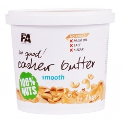 FA Nutrition Cashew Butter Smooth 1kg [ Z NERKOWCA]