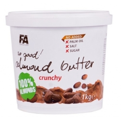 FA Nutrition Almond Butter Crunchy 1kg