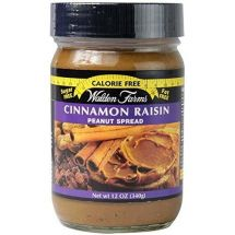 Walden Farms Cinnamon Raisin Peanut Spread 340g