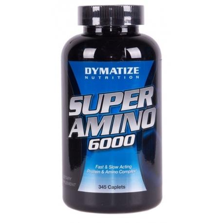 Dymatize Super Amino 6000 - 345 kaps